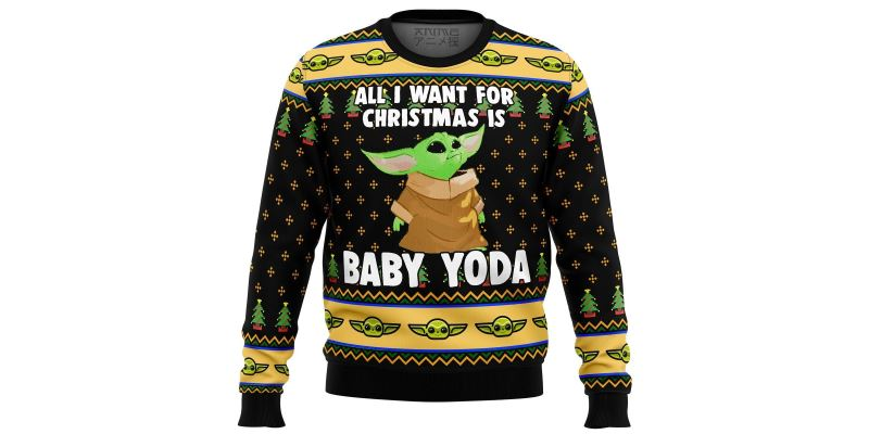 best star wars ugly christmas sweater