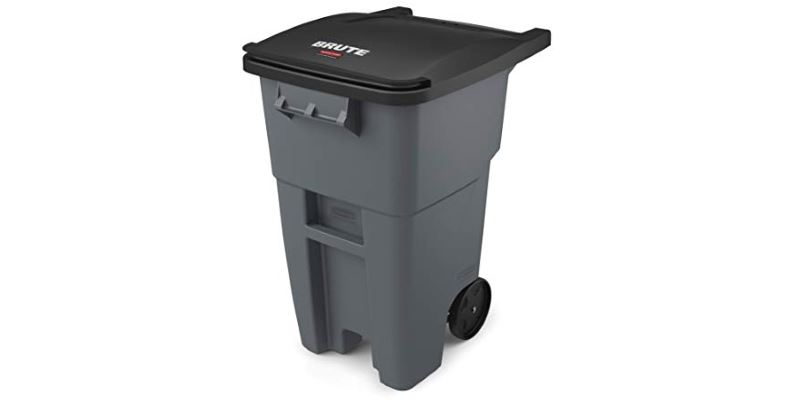 Best Outdoor Trash Can with Wheels